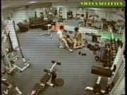 Запись с камеры видеонаблюдения тренажерного зала