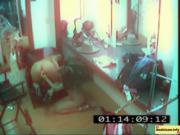 Секс снятый на камеры наблюдения