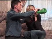 Трахнул пьяную русскую деваху