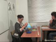 Трахнул русскую учительницу по географии