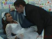 Ебет невесту после свадьбы