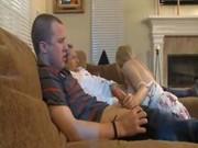 Папаша с сыном трахнули дочь