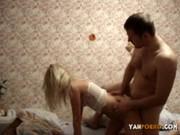 Русская девушка в домашнем порно