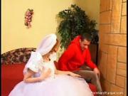 Трахнул на свадьбе рыжую невесту
