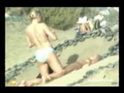 На пляже с камерой