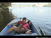 Потрахались в лодке