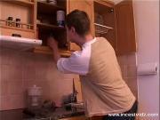Выеб мамку на кухне
