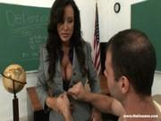Порно с училкой